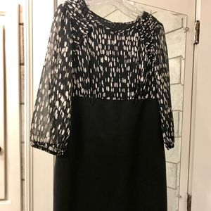 Black and white dress. Size 12